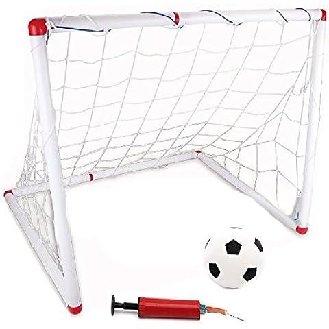 OurKosmos® Mini Objetivos de la meta del fútbol / fútbol Juguetes para Niños Educación Física