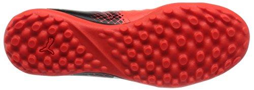 Puma Evopower 4.3 Tricks Tt, Chaussures de Football Compétition Mixte Adulte Noir (Blk/Wht/Red)