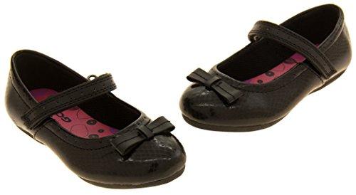 Filles Gola Mary Jane Noir retour à l'école des chaussures