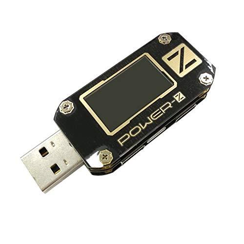 Huihuiya Multifunktionales USB PD3.0 QC4.0 PPS Tester Spannungsmessgerät Micro-Oszilloskop