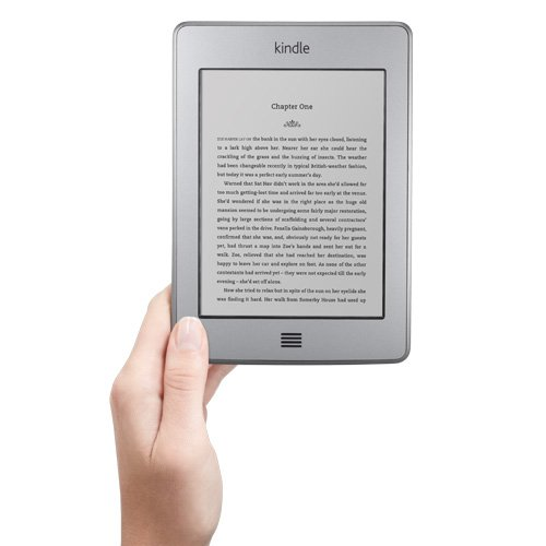 Kindle Touch, WLAN, 15 cm (6 Zoll) E Ink Touchscreen Display