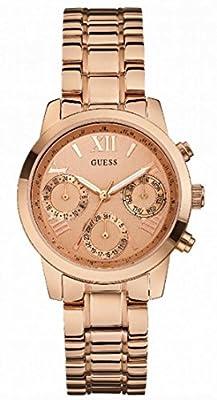 Guess W0448L3 - Reloj de pulsera para mujer, color blanco / plata de Guess