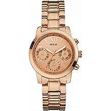 Guess W0448L3 - Reloj de pulsera para mujer, color blanco / plata