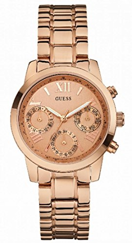 Guess Chronograph Rose Gold Watch for Women W0448L3 image