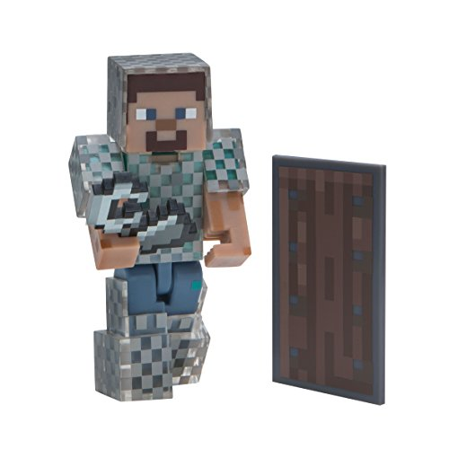 Minecraft 16492 Steve in Chain Armour Figure