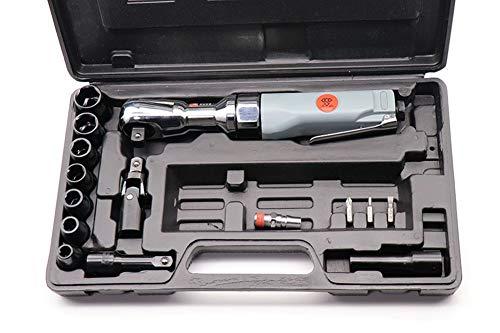 STSERI Luftratschenschlüssel-Satz 1/2''Air-Ratschenschlüsselsatz Pneumatikschlüssel, Professionelle Auto-Reparatur-Druckluftwerkzeuge, Schraubenschlüssel Druckluftwerkzeuge