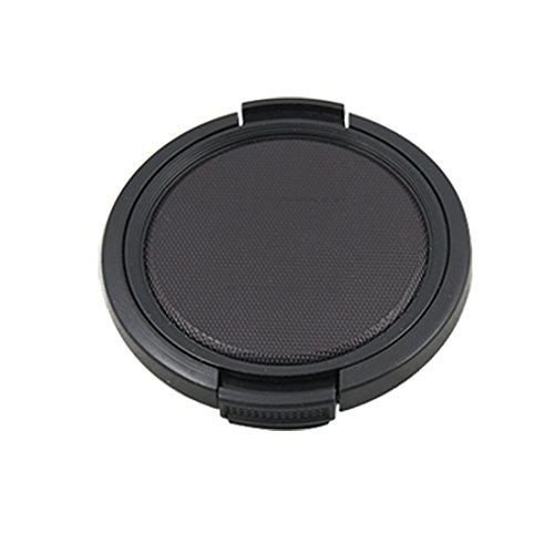 Nero strutturato plastica 52 mm lens cover per macchina (High Performance Plastica)