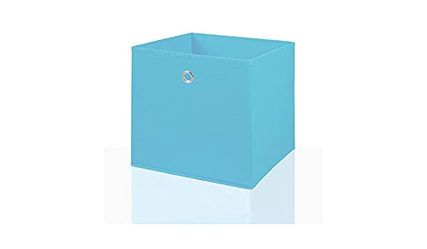 4er Set Faltbox in Grün 34 x 34 cm Faltkiste Regalkorb Regalbox Kinderbox