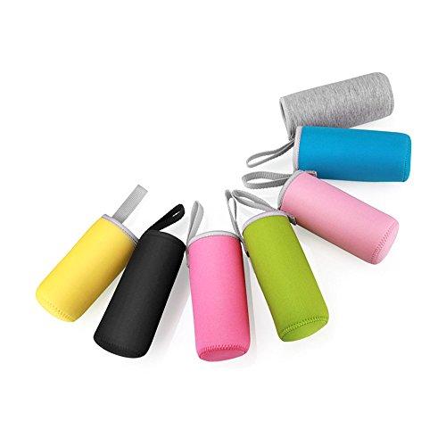 Hülle für Wasserflasche aus Neopren mit Schlaufe, 7Stück, 360ML