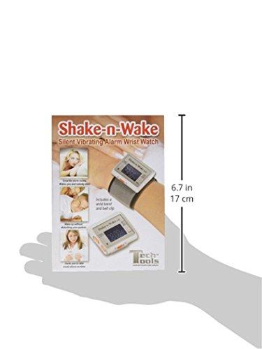 Reloj Despertador Alarma Silenciosa - Por Vibración - 'Tiembla y Despierta'
