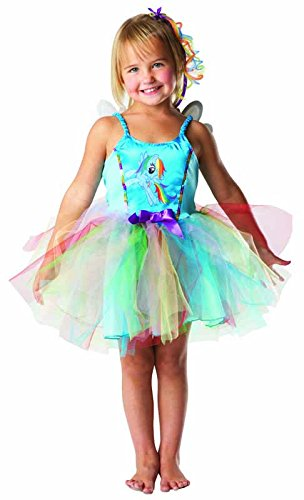 Rubie's 3 881840 - My little Pony Rainbow Dash Kostüm, Größe - Little Pony Kostüm
