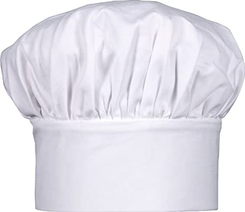 Harold Gourmet Classics Child Size 100% Cotton Adjustable Jr. Chef Hat - 7