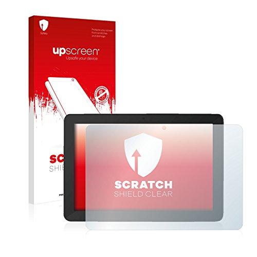 upscreen Scratch Shield Schutzfolie kompatibel mit TrekStor SurfTab breeze 10.1 quad Plus - Kristallklar, Kratzschutz, Anti-Fingerprint