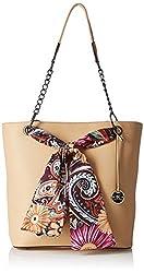 Diana Korr Womens Handbag (Beige) (DK26HAPR)