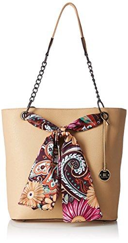 Diana Korr Women's Handbag (Beige) (DK26HAPR)