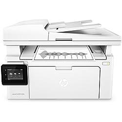 HP LaserJet Pro M130fw Imprimante Multifonction Laser Noir/Blanc (22 ppm, 600 x 1200, Wifi, USB, Ethernet, Fax)