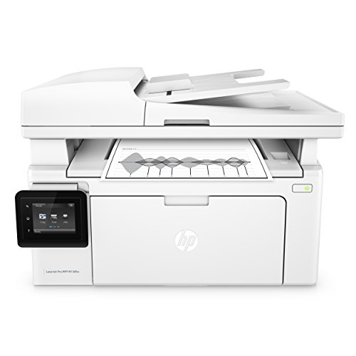 HP LaserJet Pro M130fw Laserdrucker Multifunktionsgerät (Drucker, Scanner, Kopierer, Fax, WLAN, LAN, Apple Airprint, HP ePrint, JetIntelligence, USB, 600 x 600 dpi) weiß (One Drucker Mit All Fax In Laser)