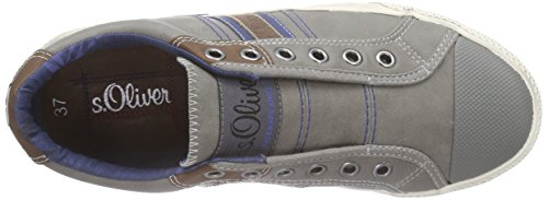 s.Oliver 44100 Jungen Sneakers Grau (GREY 200)