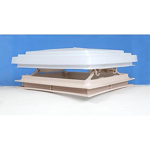 Dachöffnung für Wohnmobil, 400x 400mm, inklusive Fliegennetz, beige