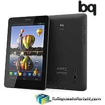 "Tablet Bq Elcano 3G 7"" Android 16GB Grado C Negro Usado"