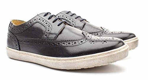 Anglais Chaussures BASE LONDON EMPRESS P09400 marine hommes Navy