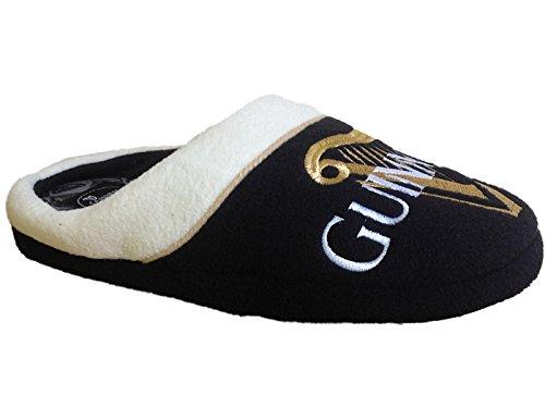 mens-guinness-novelty-fleece-character-slip-on-mules-slippers-shoes-size-uk-7-12-uk-8