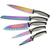 Coffret Couteaux 5 pièces Titanium Inoxidable