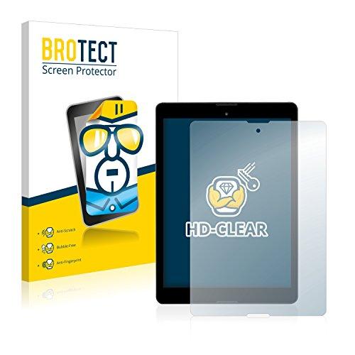 BROTECT Schutzfolie kompatibel mit Medion Lifetab P9701 (MD 90239) [2er Pack] klare Bildschirmschutz-Folie