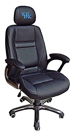 NCAA Kentucky Wildcats Leather Office Chair