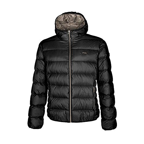 Equiline Gerry Mens Down Jacket Black/X Small