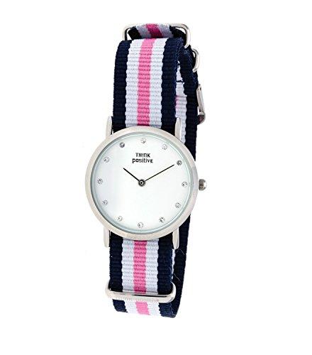 senoras-think-positiver-modelo-se-w96-pulsera-de-cristal-reloj-medio-plana-de-acero-de-cordora-color