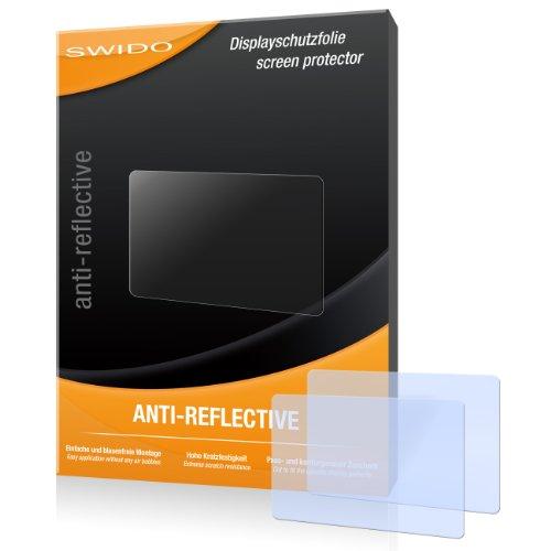 SWIDO X024252 Anti-Reflective Displayschutzfolie für Sony Cybershot DSC-HX400V Kamera (2-er Pack)