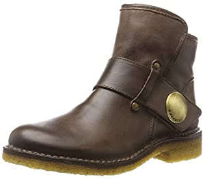 CaShott Damen A14065 Biker Boots, Braun (Brown West), 37 EU