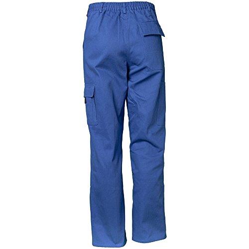 Planam BW290 Pantalon cargo Bleu roi kornblau 44 Bugatti