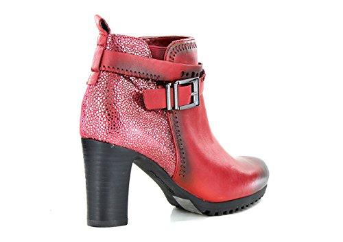 FUGITIVE NESTA - Bottines / Boots - Femme Rouge