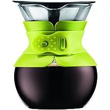 Bodum - 11592-565 - Pour Over - Cafetera de Goteo con Filtro Dorado -