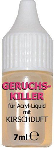 GERUCHSKILLER N+M für ACRYL-LIQUID mit KIRSCHDUFT, 7ml: 2 - 3 Tropfen reichen!! - Reiches Liquid