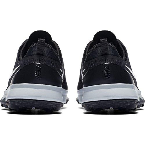 Nike FI Impact 3, Chaussures de Golf Homme, (Gris Oscuro/Blanco 003), 43 EU