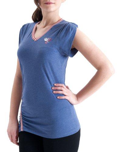 Hummel Ilgi Tee T-Shirt Marlin Blue