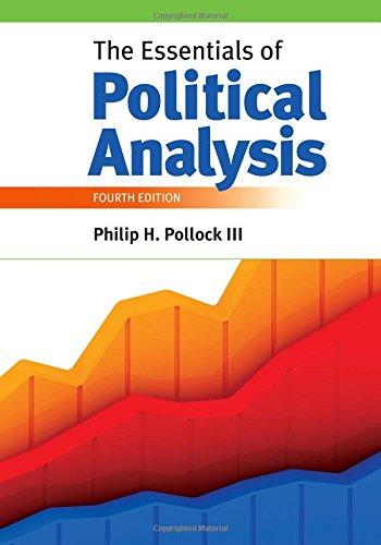 The Essentials of Political Analysis por Philip H. Pollock