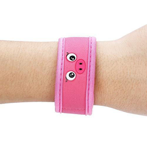 koperras SchöN Und Stilvoll, Leicht Und Praktisch, Kindersport-Cartoon-Armband, Ring, MüCkenschutz-Armband