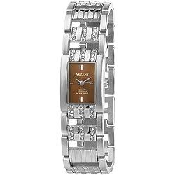 Akzent Damen-Uhren mit Metallband SS8227000003