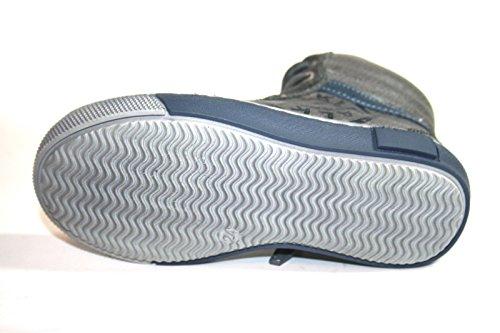 Wal Kid Cherie 2495 Kinder Schuhe, Jungen Mädchen, Stiefeletten (ohne Karton) Grau