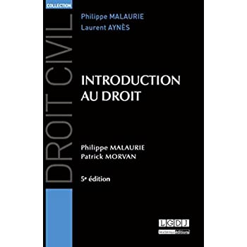 Introduction au droit, 5ème Ed