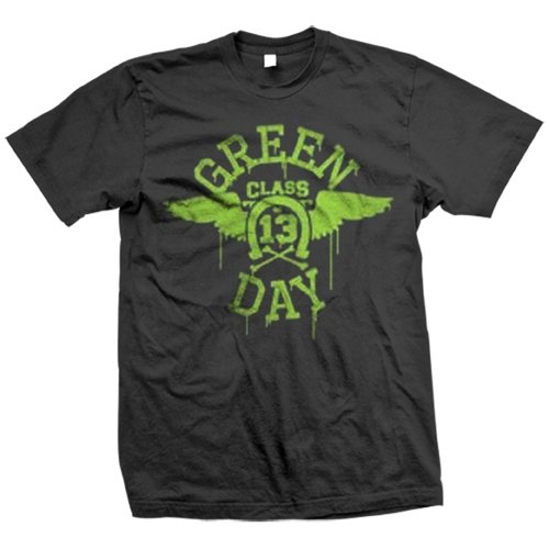 green-day-wings-neon-hommes-short-t-shirt-a-manches-in-black-x-large-black