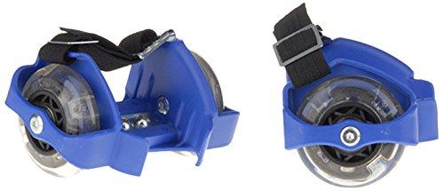Noname - Rfl-4led - Rollers Avec Flash Lumineux - 4 Diodes Intégrées - Bleu