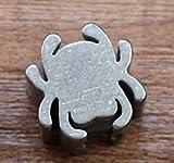 1PCS Titan Spider massiv Schlüsselanhänger Messer Jewelry Parachute Cord Paracord Bead Anhänger Lanyard