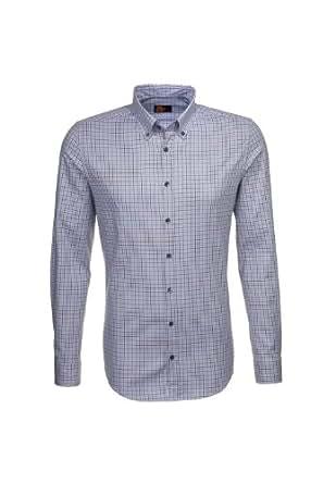 Seidensticker Herren Businesshemd Slim Fit 570522 UNO SUPER SLIM Gr. Large, Grau - Grey - grau (0033)