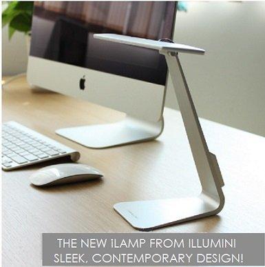 Illuminii iLamp Nuovo 2016 Design! LED scrivania/lettura/lampada da tavolo con 3 illuminazione livelle