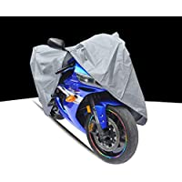 Funda para moto, cubierta, impermeable, protector, tela cubre moto, tela aislante